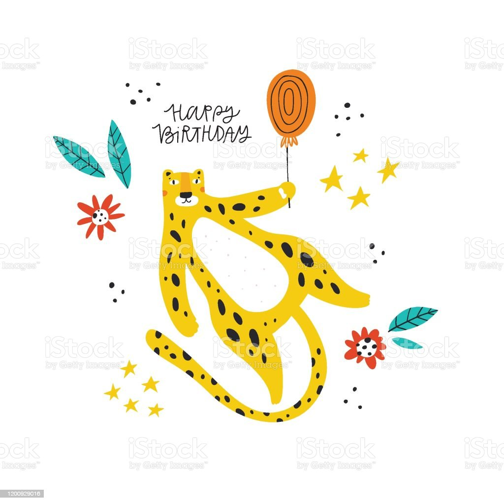 Miraculous Happy Birthday Wishes Vector Greeting Card Template Stock Funny Birthday Cards Online Fluifree Goldxyz