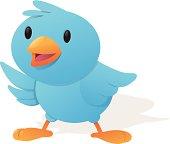 Happy Blue Bird