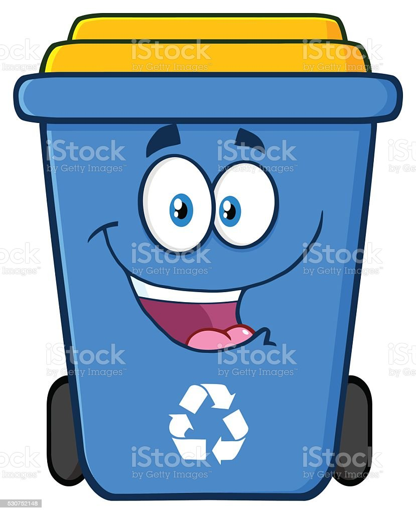 royalty free drawing of a recycling bin clip art vector images rh istockphoto com recycling clip art pictures recycle clipart