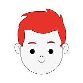 Happy Boy cartoon