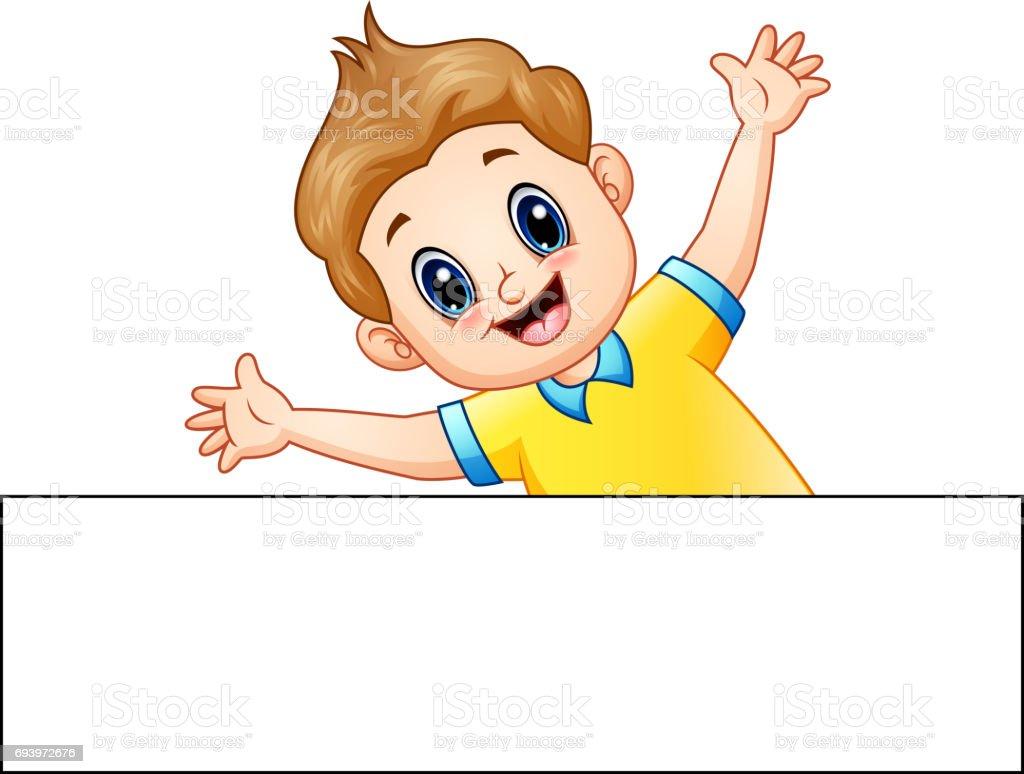 Niño Feliz Dibujo