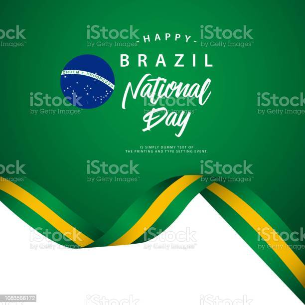 Happy brazil national day vector template illustration vector id1083566172?b=1&k=6&m=1083566172&s=612x612&h=kquagrs9vpcueyhz5al8ipa0izm9o1 4phmai3cswl4=