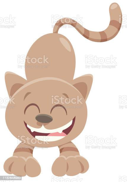 Happy brown cat cartoon animal character vector id1132848983?b=1&k=6&m=1132848983&s=612x612&h= scr hootdcfjserbgdw00fyipdydg7isw80iej n3i=