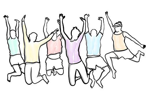 Happy Bunch Jump