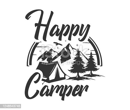 camp, camping, sign