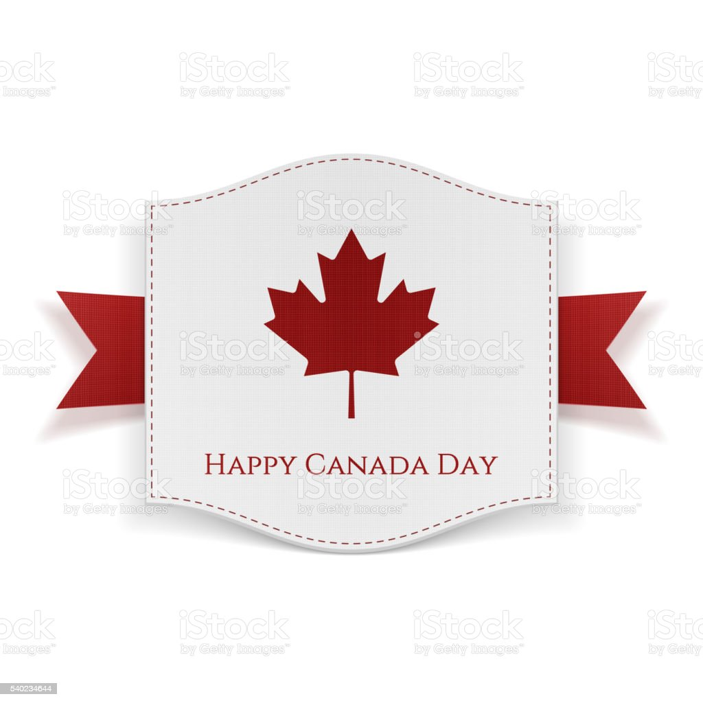 happy canada day background template stock vector art 540234644