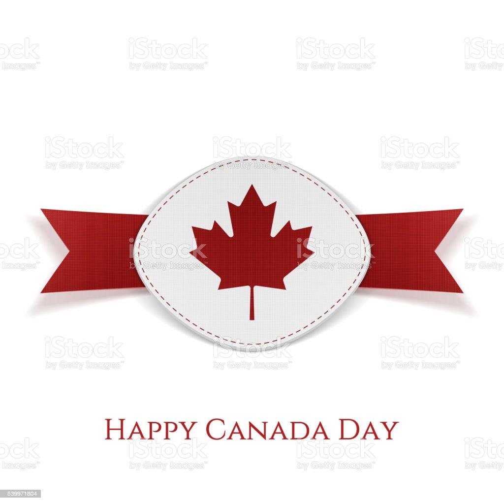 Feliz Día De Canadá Plantilla De Tarjeta De Felicitación ...