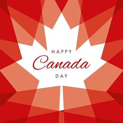 Happy Canada Day Greeting Card