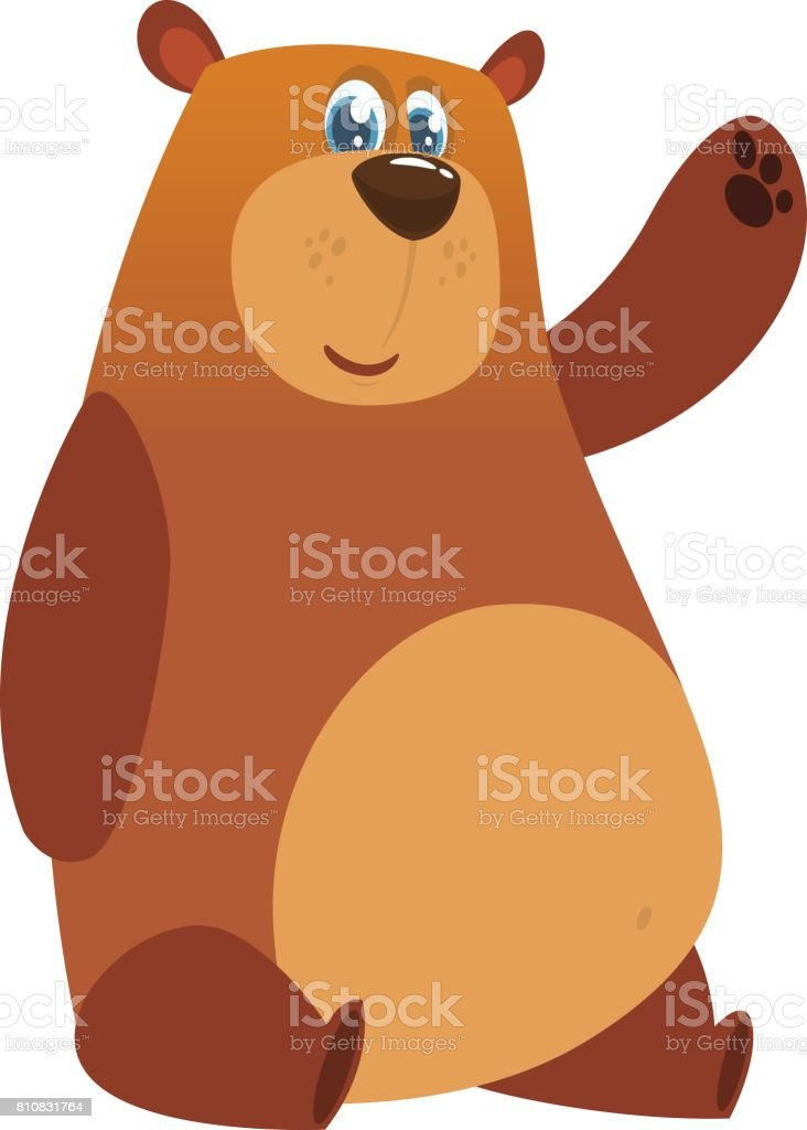 royalty free brown bear clip art vector images illustrations istock rh istockphoto com brown bear book clipart cute brown bear clipart