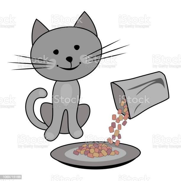 Happy cat cat feeding concept vector id1069715188?b=1&k=6&m=1069715188&s=612x612&h=x5rhl9hndj9tw umjcyomvermfif14a qdnxbbhholc=
