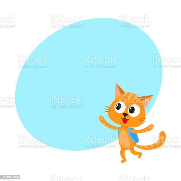 Happy cat kitten student character with backpack back to school vector id694046590?b=1&k=6&m=694046590&s=612x612&h=vwosiofe490kmf segunlfnnakw yad0reackgfjm8q=