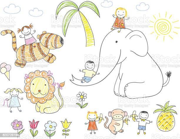 Happy children and animals vector id820726196?b=1&k=6&m=820726196&s=612x612&h=dykmnvh2zqvg0taf8li5f5jnysvgrz6zqzowybipy4o=