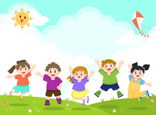 3 638 Sunny Day Park Illustrations Clip Art Istock