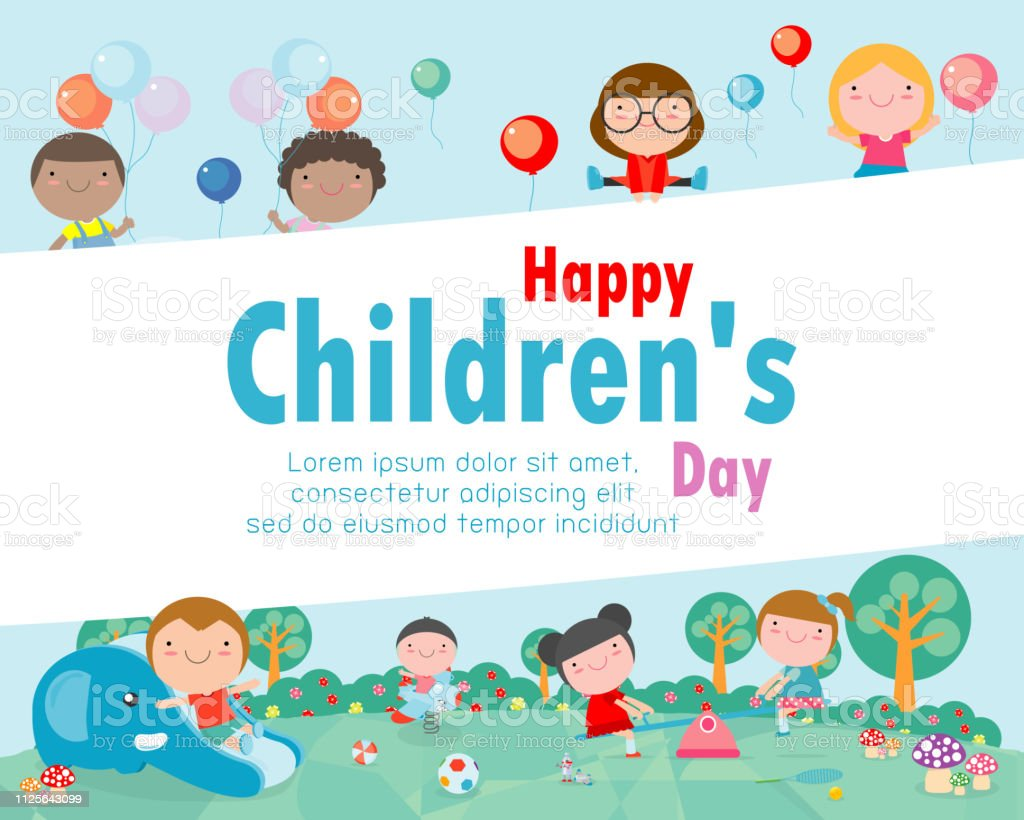 present happy childrens day - HD 1024×820