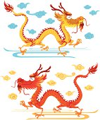 Happy Chinese Dragon
