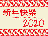 Golden chinese characters on red gradient background, mean happy and wealthy new year (translation GONG XI FA CAI)