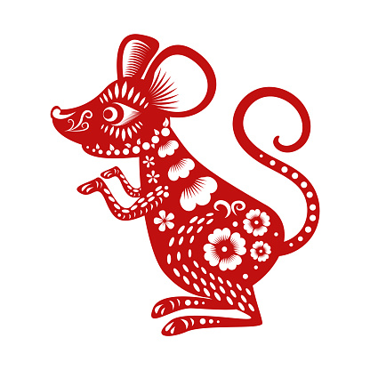Happy Chinese New Year 2020 Year Of The Rat Stock ...