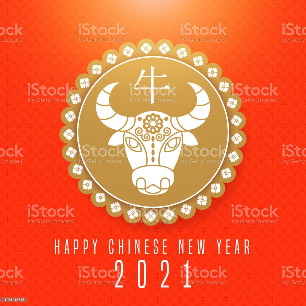happy chinese new year 2021 calendar with ox cow or bull stock illustration download image now istock happy chinese new year 2021 calendar with ox cow or bull stock illustration download image now istock