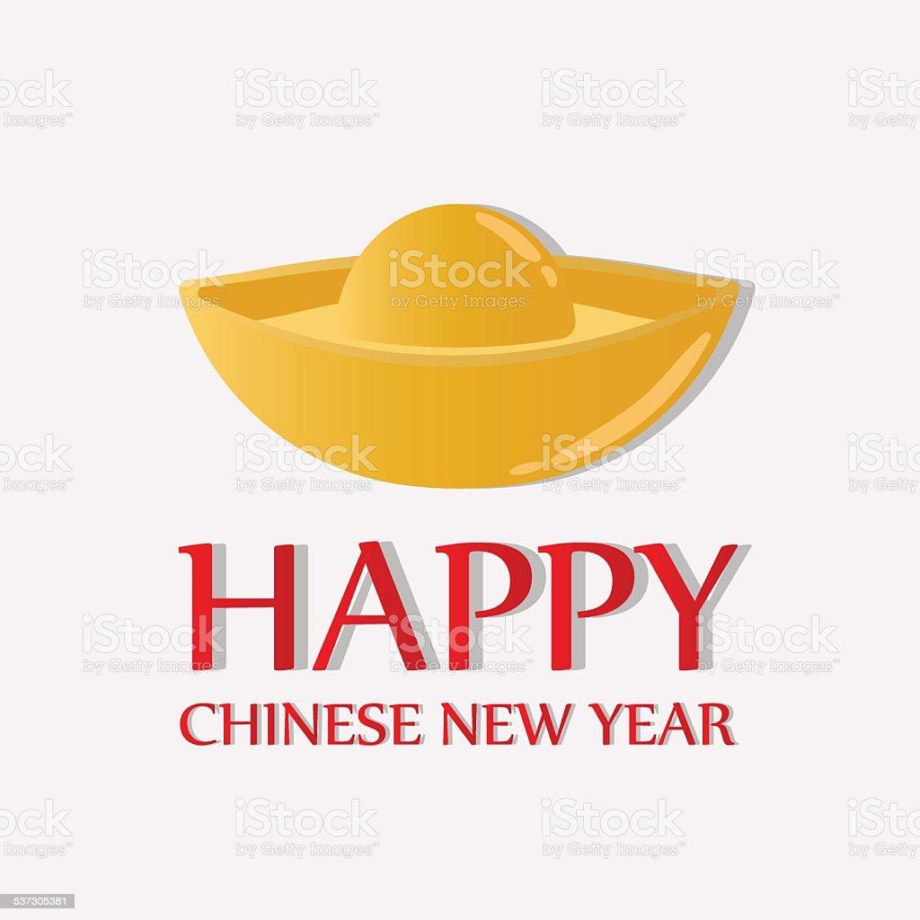Happy Chinese New Year Greetings Chinese Money Stock Vector Art