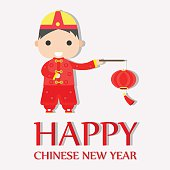 Happy Chinese New Year Greetings ,Happy Boy