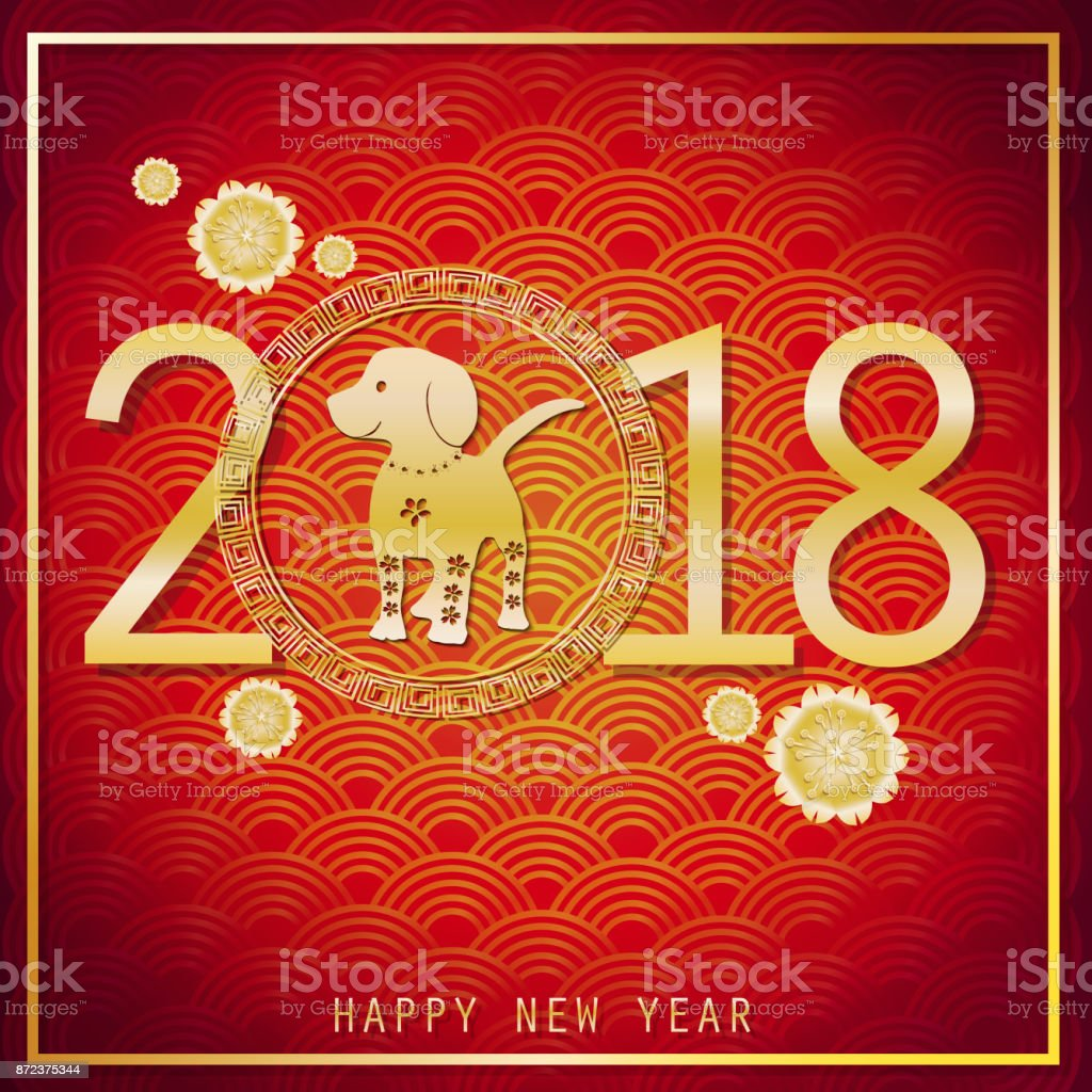 2018 happy chinese new year paper cut art vector design for greeting paper cut art vector design for greeting cards calendars kristyandbryce Images