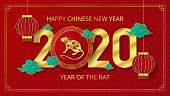 Happy Chinese New Year paper cut style. Can be used for greetings card, flyers, invitation, posters, brochure, banners, calendar.