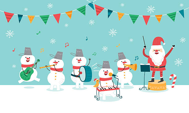 Christmas Concert.Best Christmas Concert Illustrations Royalty Free Vector