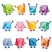 istock Happy Colorful Candy Characters 942768214