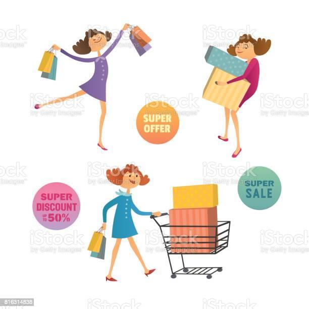Happy consumers concept vector id816314838?b=1&k=6&m=816314838&s=612x612&h=t492x1132ylyw23bwqg0unk0cavqpizzibbkzjy15s8=