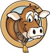 Happy Cow Head
