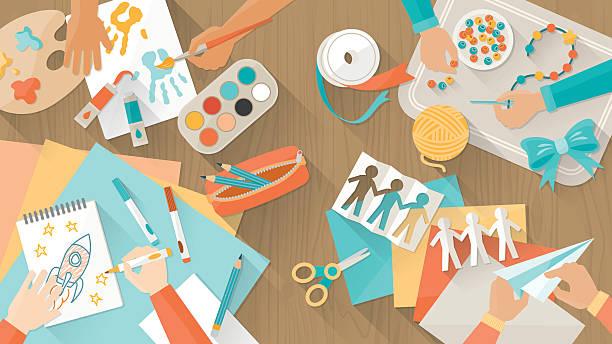 5,353,153 Arts And Crafts Illustrations & Clip Art - iStock