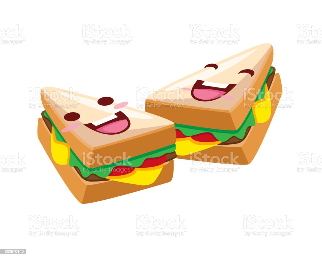 happy cute delicious sandwich cartoon character illustration stock illustration download image now istock happy cute delicious sandwich cartoon character illustration stock illustration download image now istock