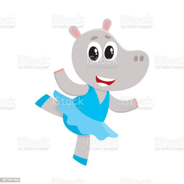Happy cute little hippo character ballet dancer in tutu skirt vector id807867658?b=1&k=6&m=807867658&s=612x612&h=qo4lxfzca 7gyhd3ard8b9 3 lqc ixgwqf8kute9xo=