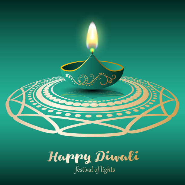 happy diwali. festival of lights - diwali stock illustrations, clip art, cartoons, & icons