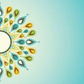 creative happy diwali greeting card design with colorful diyas vector