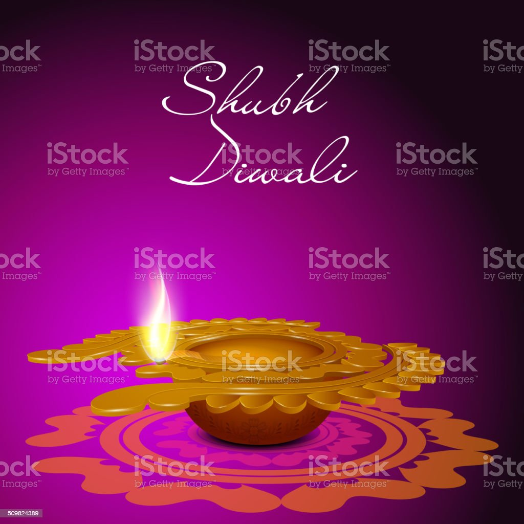 Happy Diwali Greeting Card Design Stock Vector Art More Images Of