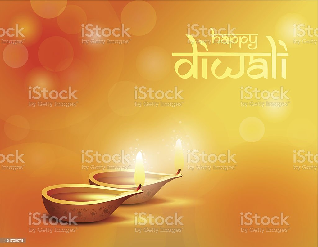 Happy Diwali Greetings Card Stock Vector Art More Images Of