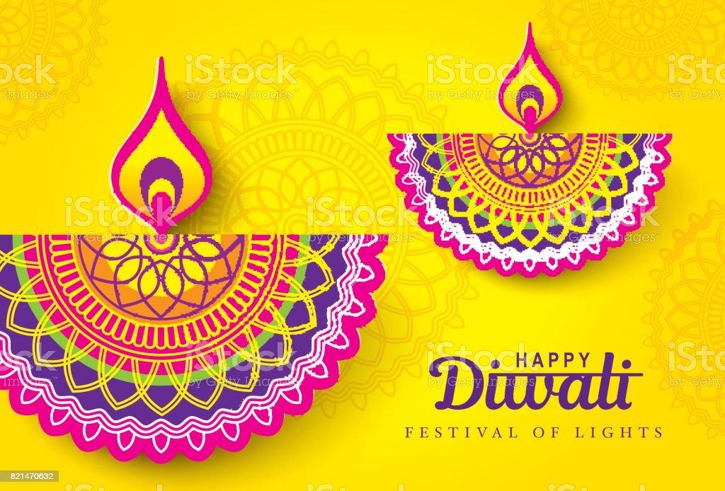Happy Diwali – Vektorgrafik