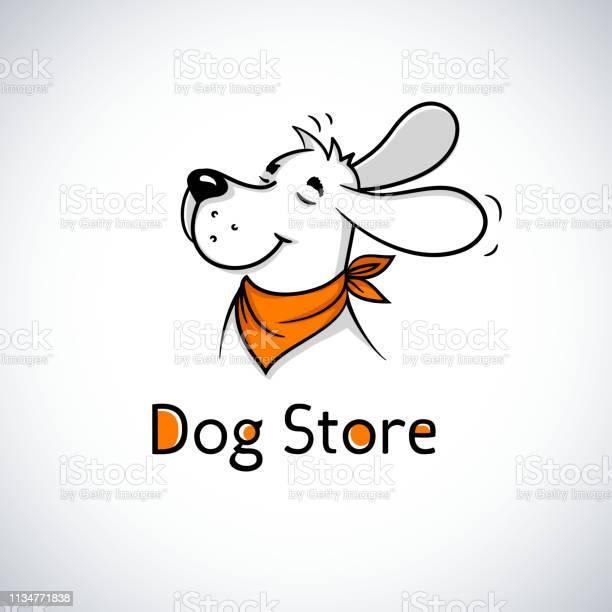 Happy dog in bandana cute cartoon mascots for pet shop veterinary vector id1134771838?b=1&k=6&m=1134771838&s=612x612&h=6hqm5fzsp8xpoxafcb5vcg4vx3ietw8uyuoydnea7hu=