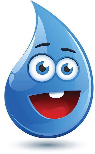 Best Cartoon Of Water Drop Illustrations, Royalty-Free ...