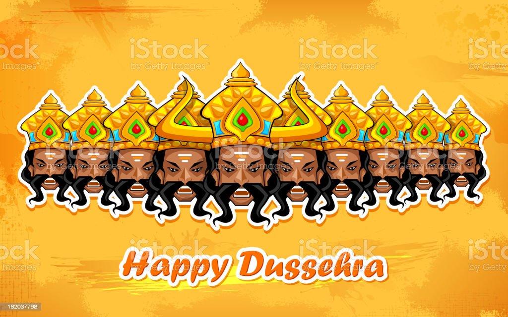 Happy Dussehra royalty-free happy dussehra stock vector art & more images of celebration