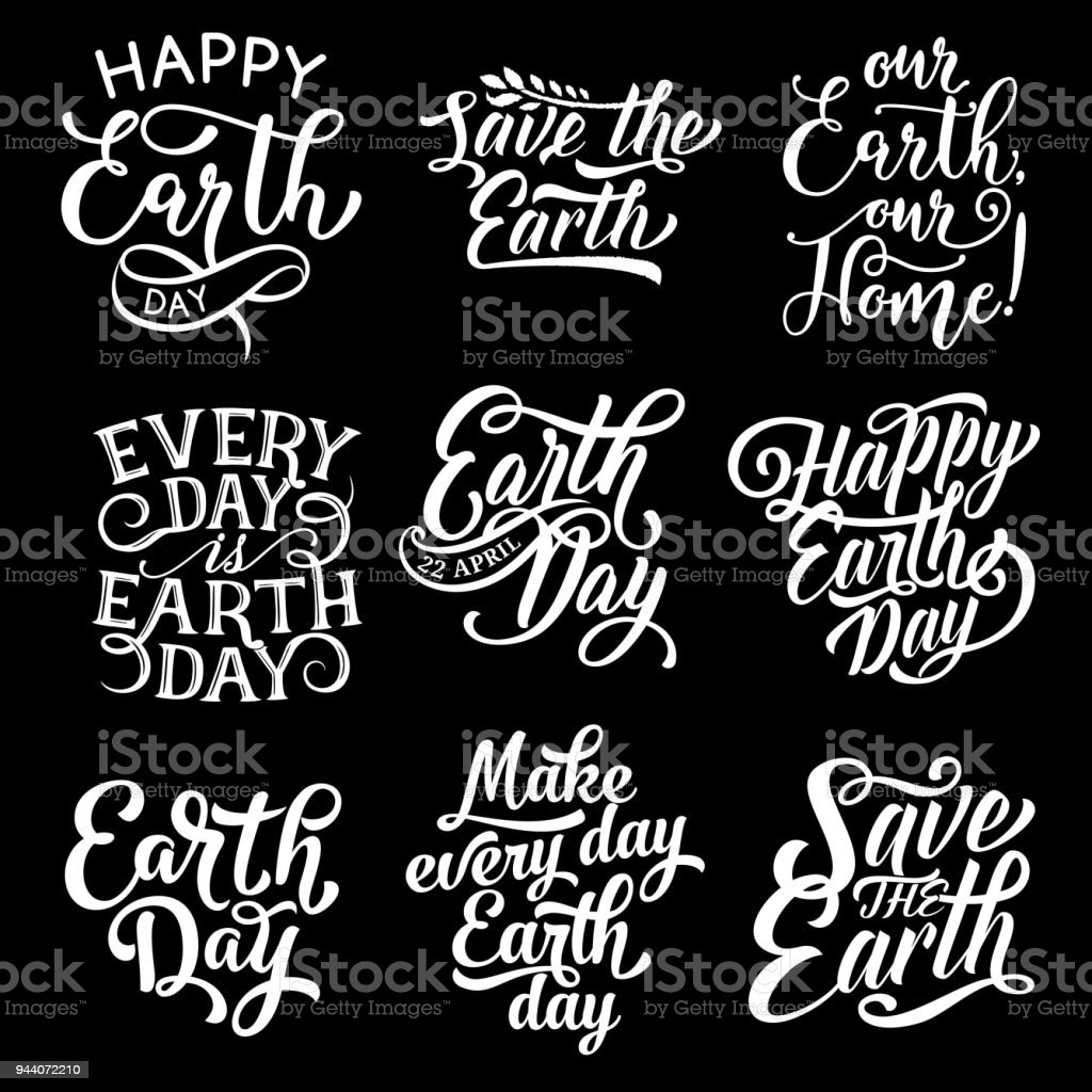 Happy earth day save planet vector text greetings stock vector art happy earth day save planet vector text greetings royalty free happy earth day save planet m4hsunfo