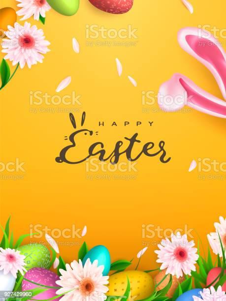 Happy easter background trendy eggs spring holiday design vector vector id927429960?b=1&k=6&m=927429960&s=612x612&h=6np5iu5sejrmvgzpvwlqum17etwbddtnrmh4ex1eg0q=