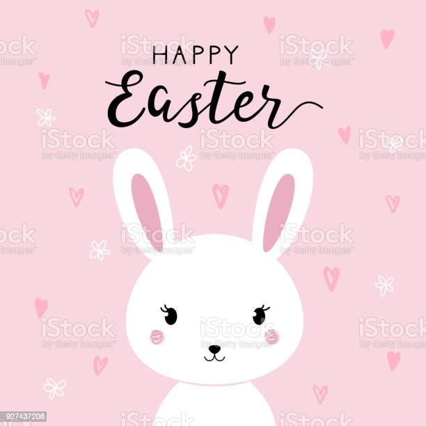 Happy easter background with cartoon cute bunny vector id927437208?b=1&k=6&m=927437208&s=612x612&h=qmpgw5j09qixbvtvmhvcrbjmfaqu aosrg395 1oseu=