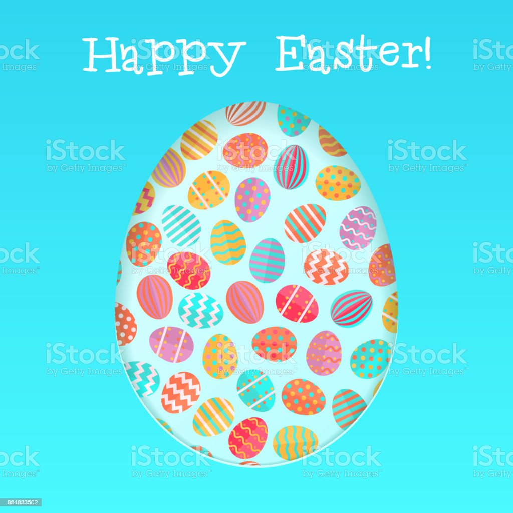 happy easter card template with stock vector art more images of
