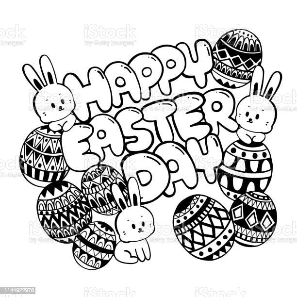 Happy easter day doodle easter day with cute bunny and eggs vector id1144922978?b=1&k=6&m=1144922978&s=612x612&h=meudwpvqrsv2xajohfrn5pt4aisb29iaqfkzpysrpp4=