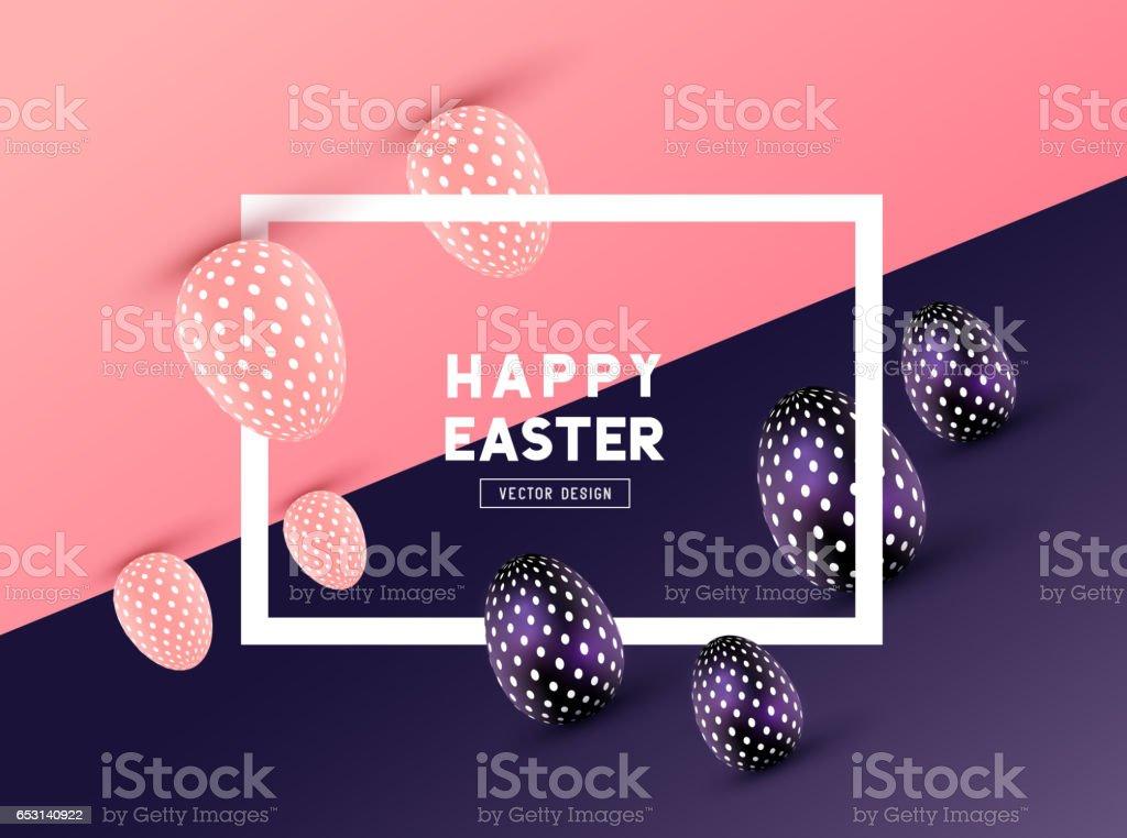 Happy Easter Design - Illustration vectorielle