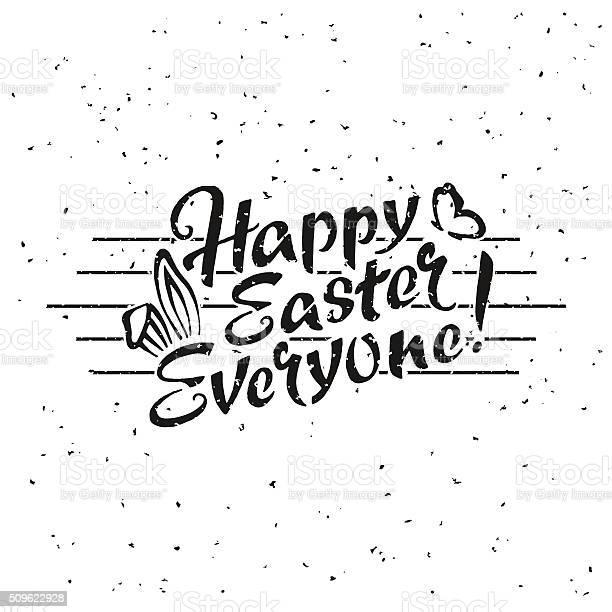 Happy easter everyone hand drawn lettering vector id509622928?b=1&k=6&m=509622928&s=612x612&h=rxuijlbptkamtrdmfltkxivr8pfzzceb1hy zc pc a=