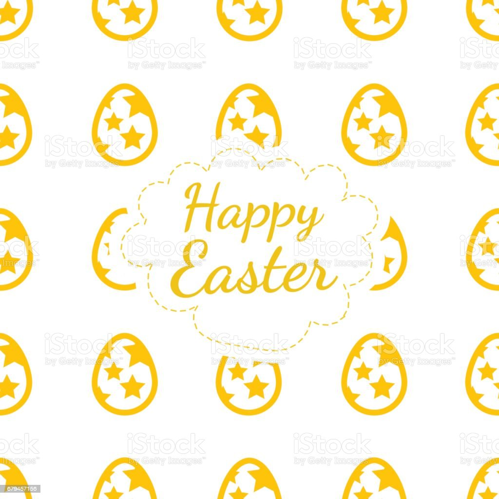 Happy Easter greeting card colored background of the eggs seamless pattern royalty-free happy easter greeting card colored background of the eggs seamless pattern stock vector art & more images of art