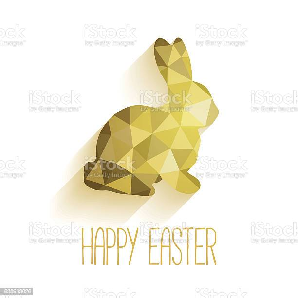 Happy easter greeting card in low poly triangle style vector id638913026?b=1&k=6&m=638913026&s=612x612&h=gnho3yqz8pci16fuoypinrnkngzemht4tr40jxm8pvy=